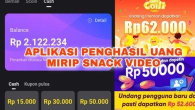 6 Aplikasi Penghasil Uang Mirip Snack Video