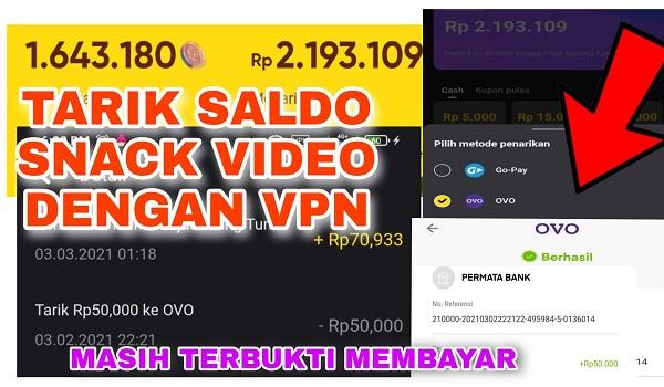 Apakah Membayar Membuka Aplikasi Snack Video dengan VPN
