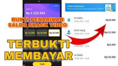 Aplikasi Penghasil Uang Mirip Snack Video