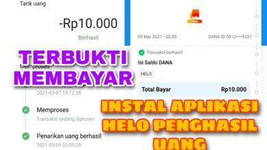 Cara Instal Aplikasi Helo Penghasil Uang