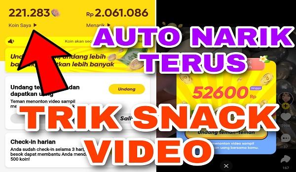 Trik Cepat Mendapatkan Koin di Snack Video