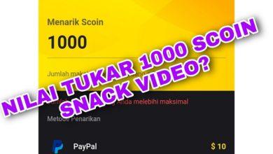 1000 Scoin Snack Video Berapa Rupiah