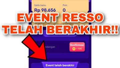 Apakah Event Aplikasi Resso Sudah Berakhir