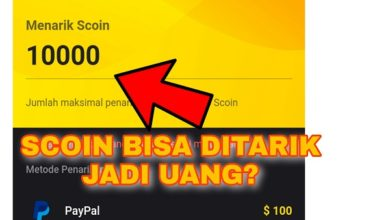 Cara Menarik Scoin Snack Video Ke Rekening Bank