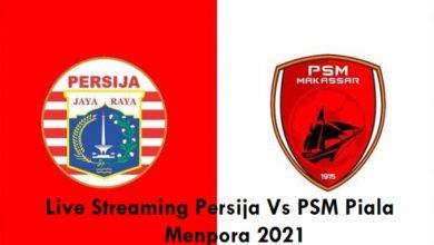 Link Live Streaming Persija Vs PSM Piala Menpora 2021