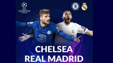 4 Link Live Streaming Chelsea Vs Real Madrid Liga Champions 2021
