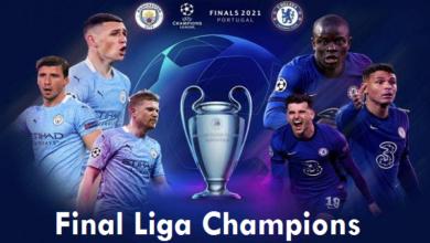 4 Link Live Streaming Man City Vs Chelsea Final Liga Champions