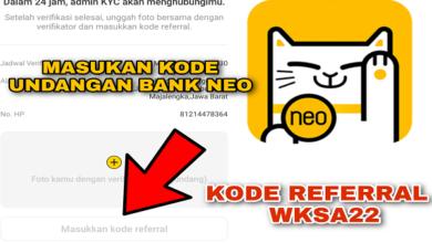 Aplikasi Bank Neo