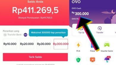 Bukti Pembayaran dari Aplikasi TikTok Lite Terbaru