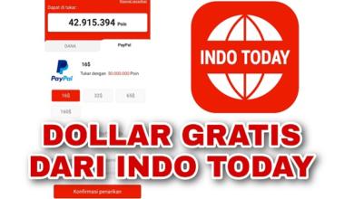 Cara Mendapatkan Dollar Gratis dari Indo Today