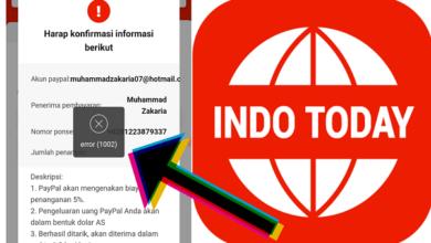 Cara Mengatasi Error 1002 Saat Penarikan di Indo Today