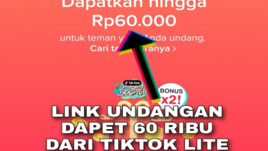 Link Undangan Aplikasi TikTok Lite
