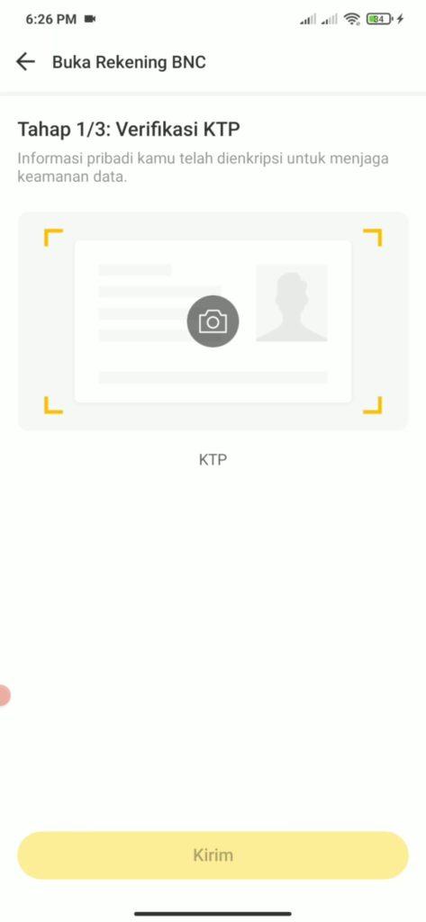 cara upload ktp di aplikasi neo+
