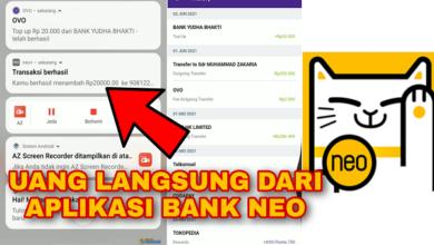 Cara Mendapatkan Uang Langsung dari aplikasi Bank Neo