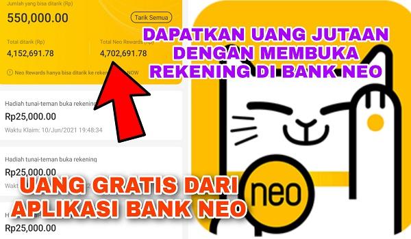 Cara Mendapatkan Uang dari Aplikasi Neo+ Terbaru