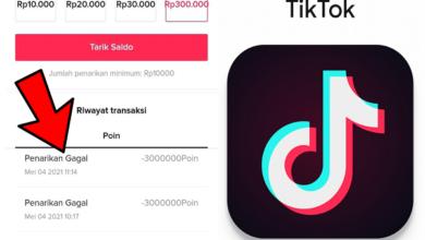 Cara Mengatasi Tarik Saldo Gagal di Aplikasi TikTok Ori