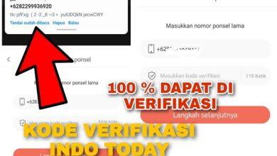 Cara Mengatasi Tidak dapat Menerima Kode Verifikasi Indo Today