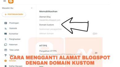 Cara Mengganti Alamat Blog dengan Domain Kustom dari NameCheap