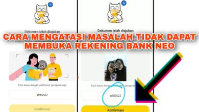 Kenapa Gagal Membuka Rekening di Aplikasi Bank Neo