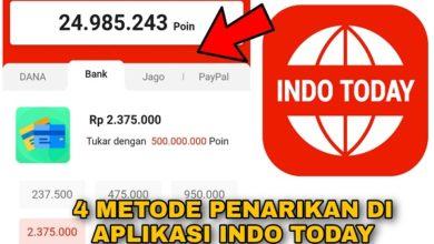 4 Metode Penarikan Poin Indo Today Menjadi Uang