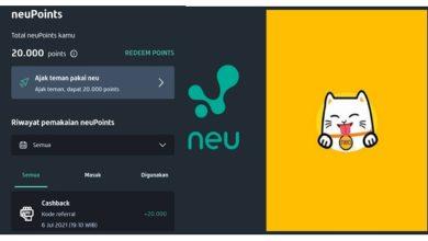 Cara Mendapatkan Uang dari Aplikasi Neu Mirip Aplikasi Neo+