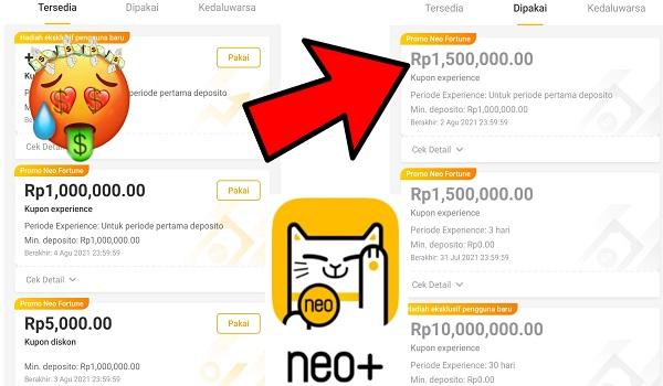 Cara Pakai Kupon Experience dari Promo Neo Fortune