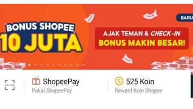 Cara Mendapatkan Saldo Shopeepay 10 Juta Terbaru