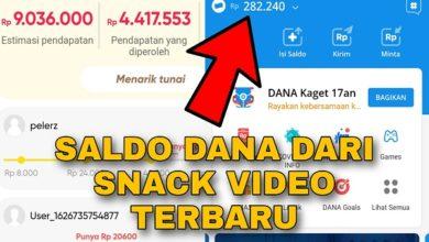 Cara Mendapatkan Saldo Dana dari Aplikasi Snack Video Terbaru