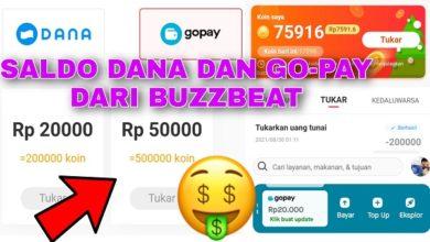 Cara Mendapatkan Saldo Dana dan Gopay dari Buzzbeat