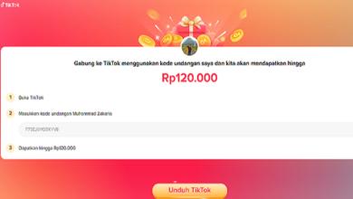Cara Mendapatkan Uang 120 Ribu dari TikTok