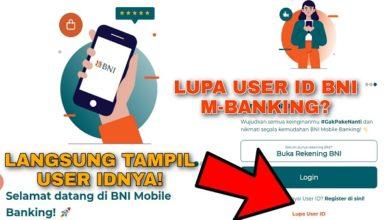 Cara Mengatasi Lupa User ID BNI Mobile Banking