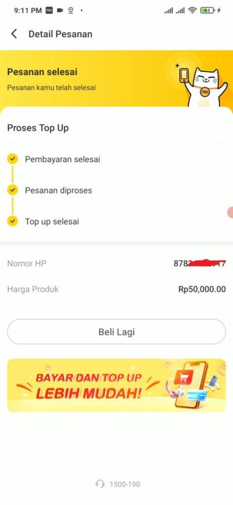 Cara Membeli Pulsa dari Aplikasi Bank Neo langsung apakah bisa