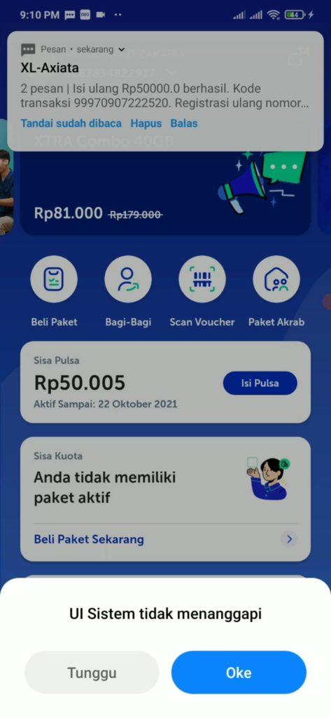 Pulsa Gratis dari Aplikasi Neo+