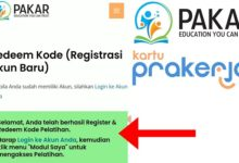 Cara Redeem Kode Voucher di Situs Pakar Prakerja