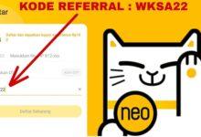 Kode Referral Neo+ Tanpa Foto Bersama dan Cara Memasukkanya