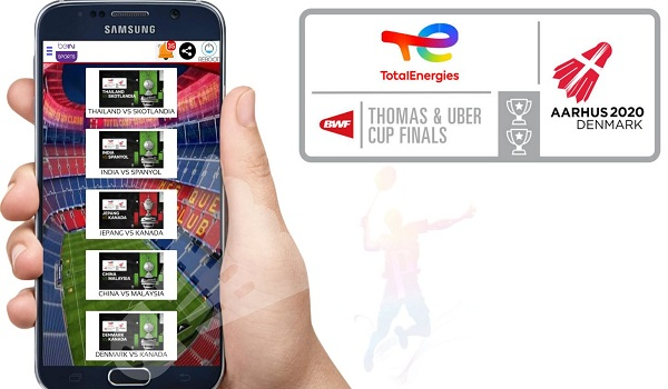 2 Aplikasi Live Streaming Badminton Uber Cup 2021