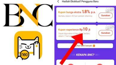 Cara Menggunakan Kupon Experience Bank Neo Commerce